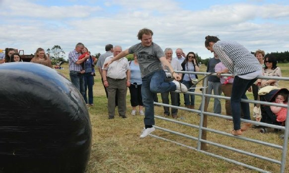 Roll In The Hay Competition Trim Haymaking Festival